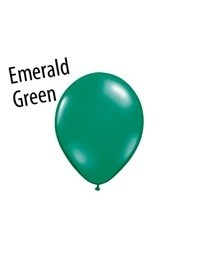 9 inch Qualatex EMERALD GREEN, Price Per Bag of 25