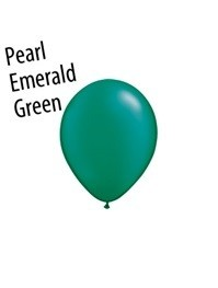 16 inch Qualatex PEARL EMERALD GREEN, Price Per Bag of  25