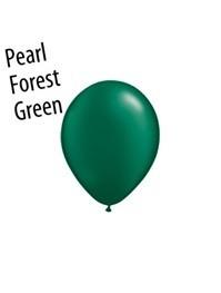 5 inch Qualatex PEARL EMERALD GREEN, Price Per Bag of   25