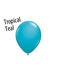 16 inch Qualatex TROPICAL TEAL, Price Per Bag of 25