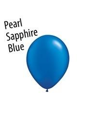 16 inch Qualatex PEARL SAPPHIRE BLUE, Price Per Bag of  25