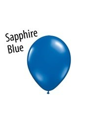 5 inch Qualatex SAPPHIRE BLUE, Price Per Bag of 25