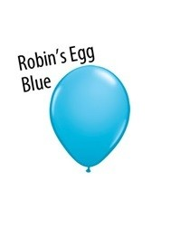 5 inch Qualatex ROBIN'S EGG BLUE, Price Per Bag of  25