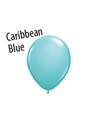 5 inch Qualatex CARIBBEAN BLUE, Price Per Bag of  25