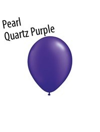11 inch Qualatex PEARL QUARTZ PURPLE, Price Per Bag of 25