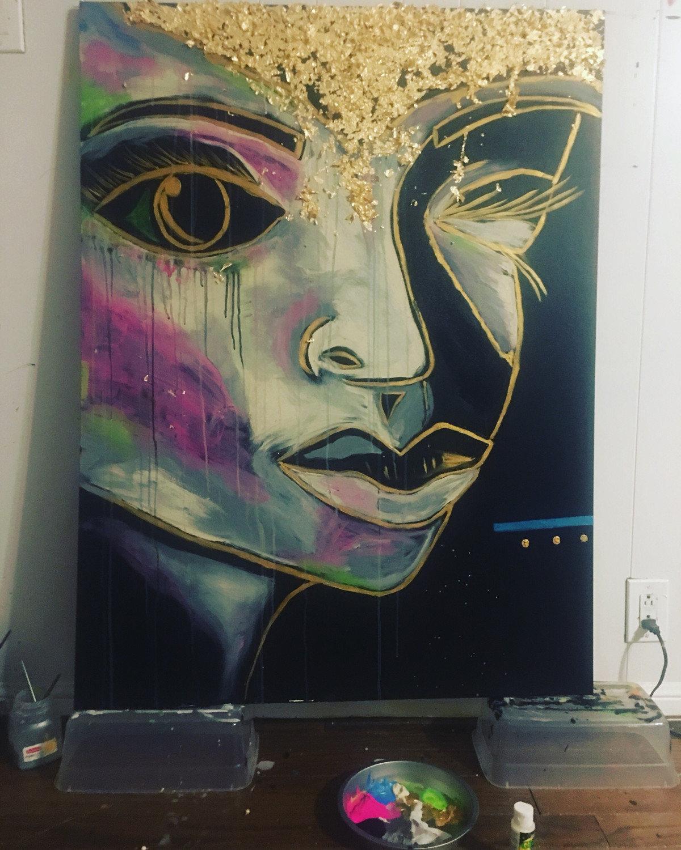 """Dawned"" Canvas Print"