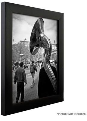 24 x 36 Black Wood Frame