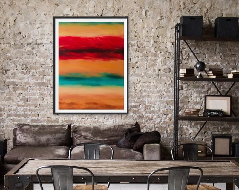 """""""Vacant"""" Art Print"""