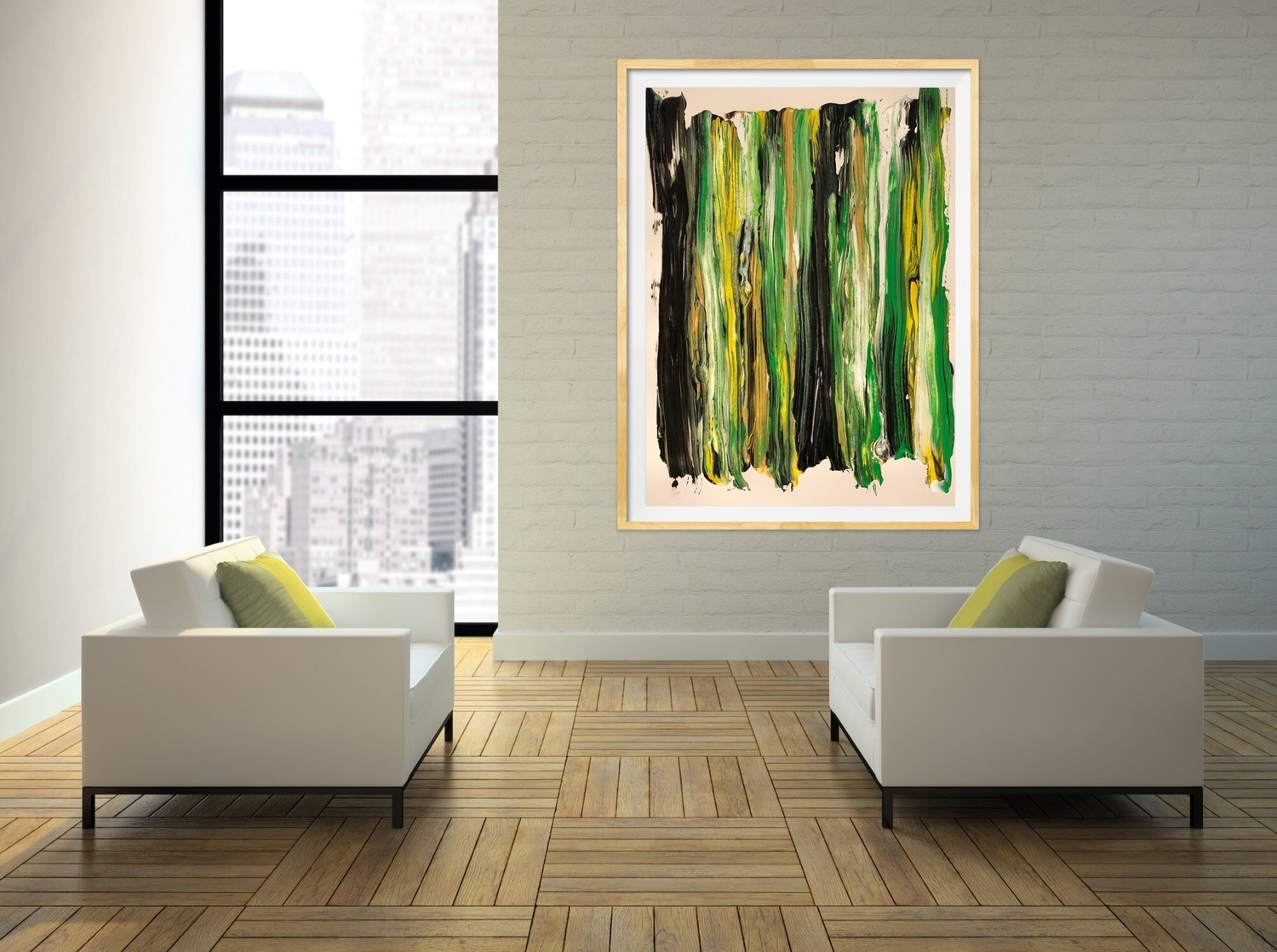 """Peacefulness"" Canvas Print"