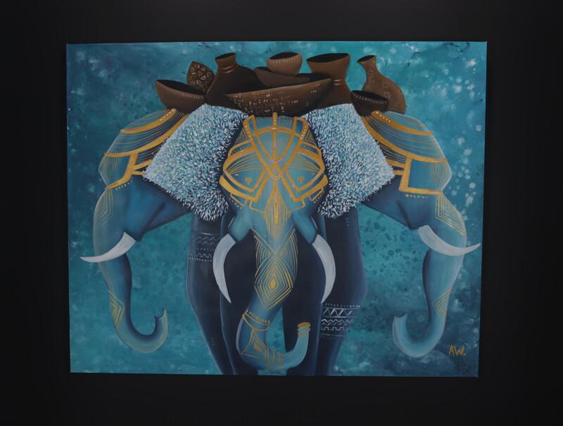 """""""Elephant"""" Original By Audrianna Woods"""