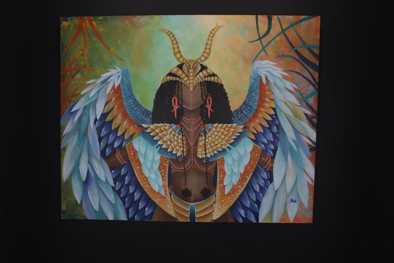 """Goddess"" Original By Audrianna Woods"