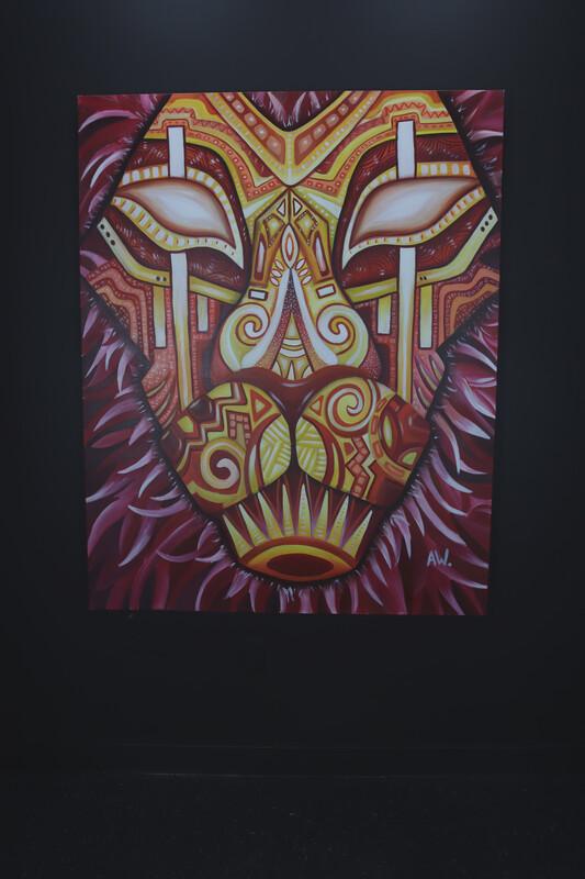 """Lion"" Original By Audrianna Woods"