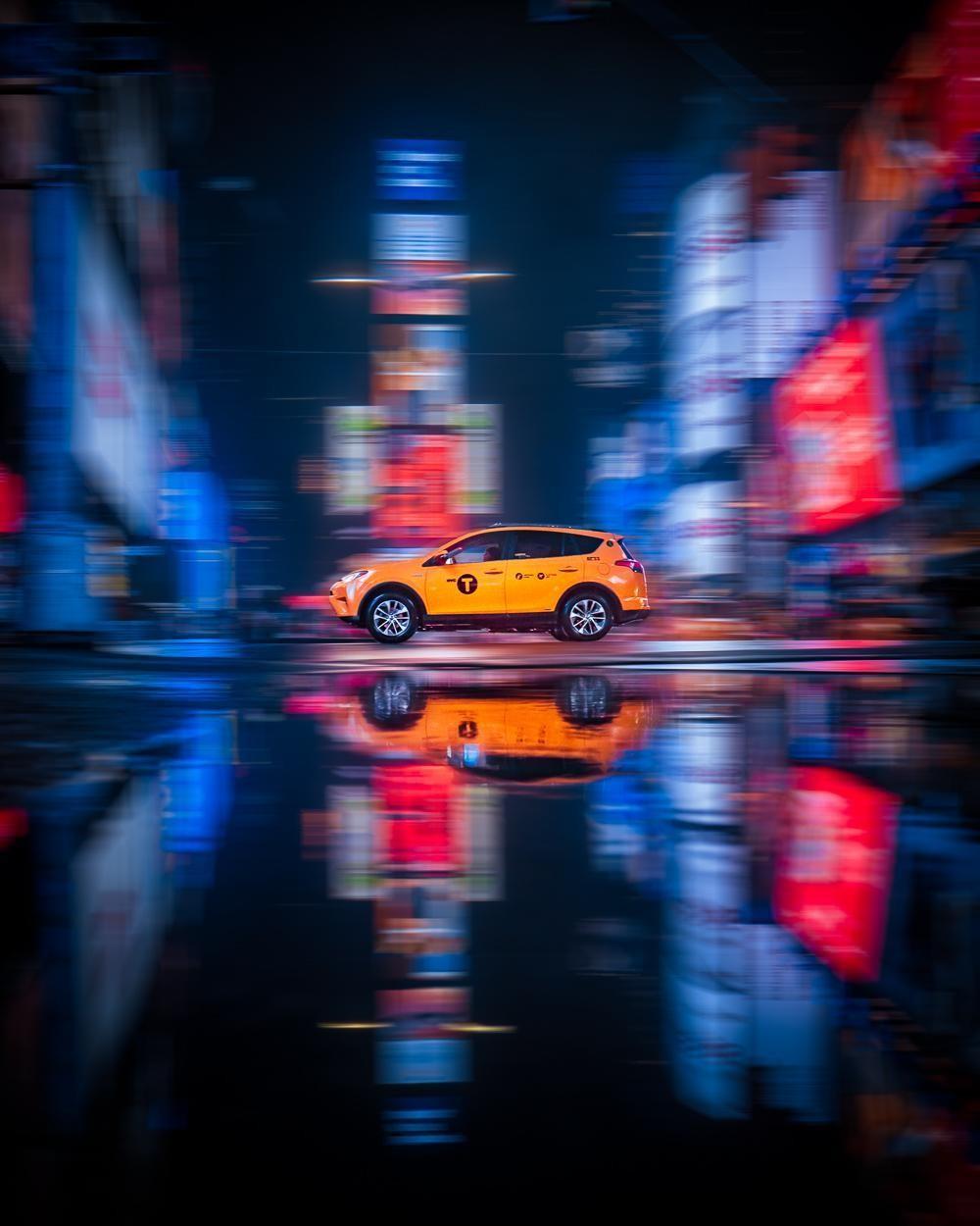 NEW YORK CITY NIGHT TAXI 2