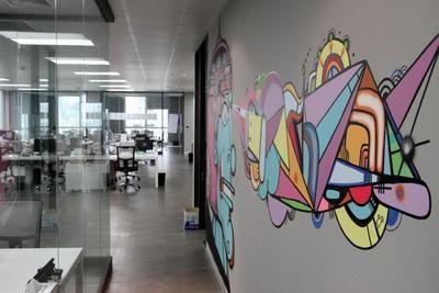 MTV EXIT BANGKOK OFFICE MURAL PAINTING 3