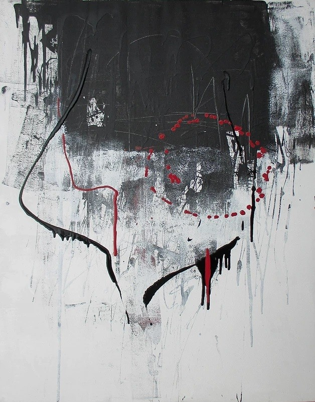 Acrylic painting on canvas 15 (Title unspecified)