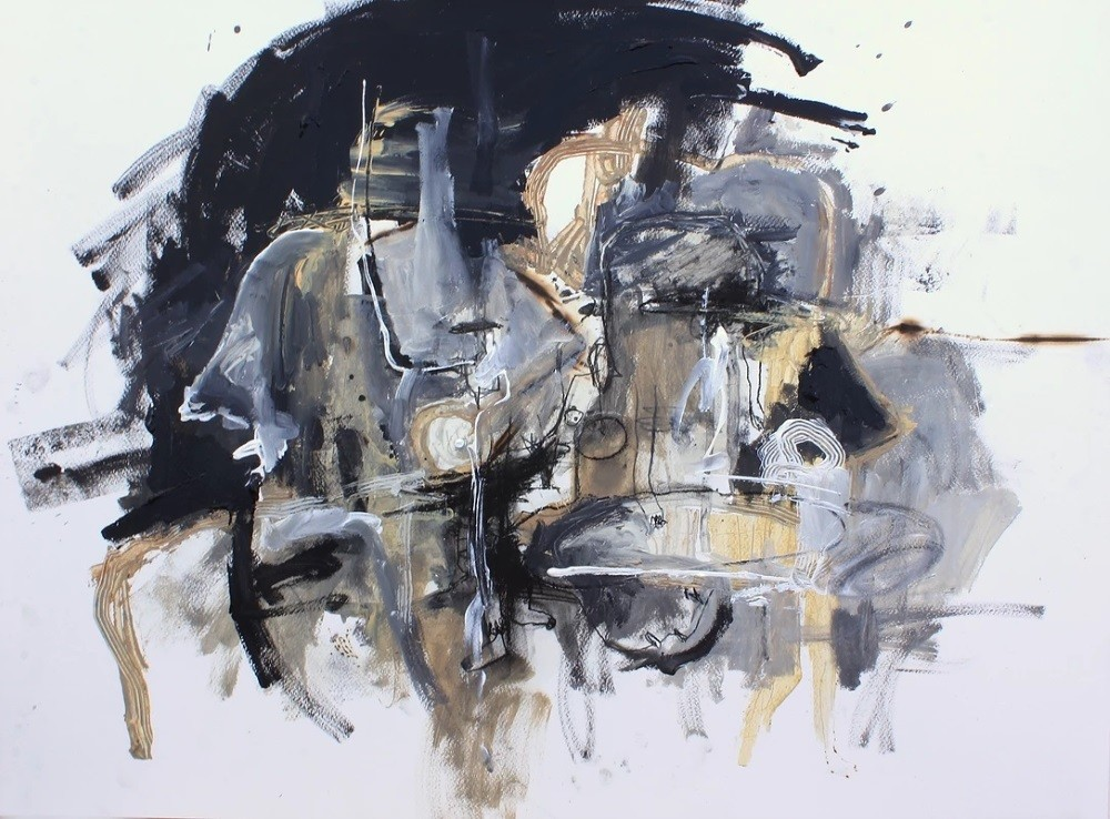 Acrylic painting on canvas 23 (Title unspecified)