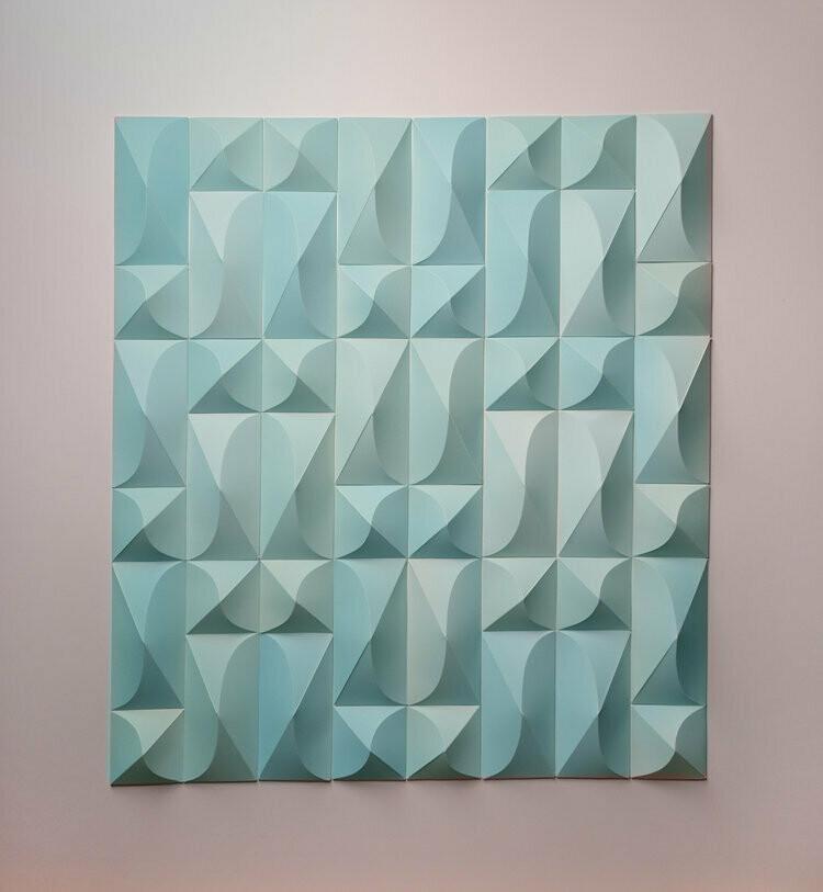 Geometric Paper Sculpture 06 (Title unspecified)
