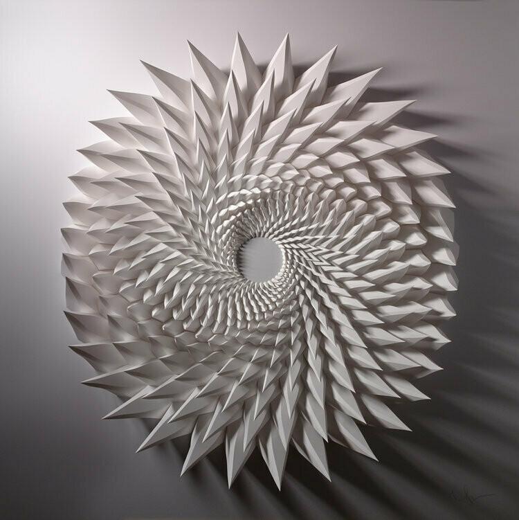 Geometric Paper Sculpture 09 (Title unspecified)