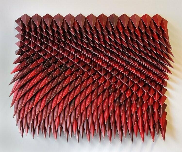 Geometric Paper Sculpture 13 (Title unspecified)
