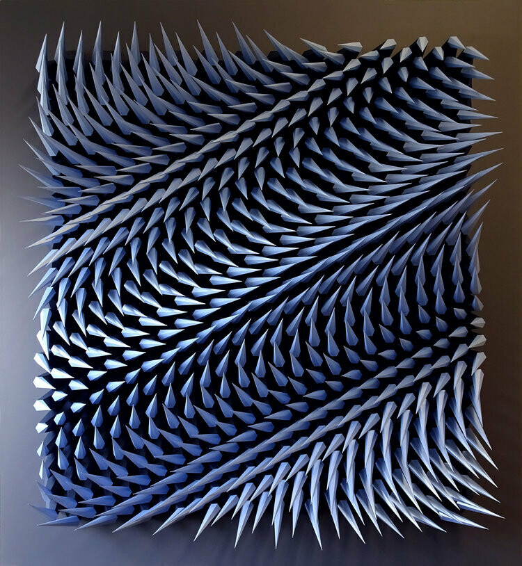 Geometric Paper Sculpture 14 (Title unspecified)