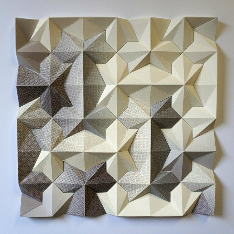 Geometric Paper Sculpture 16 (Title unspecified)