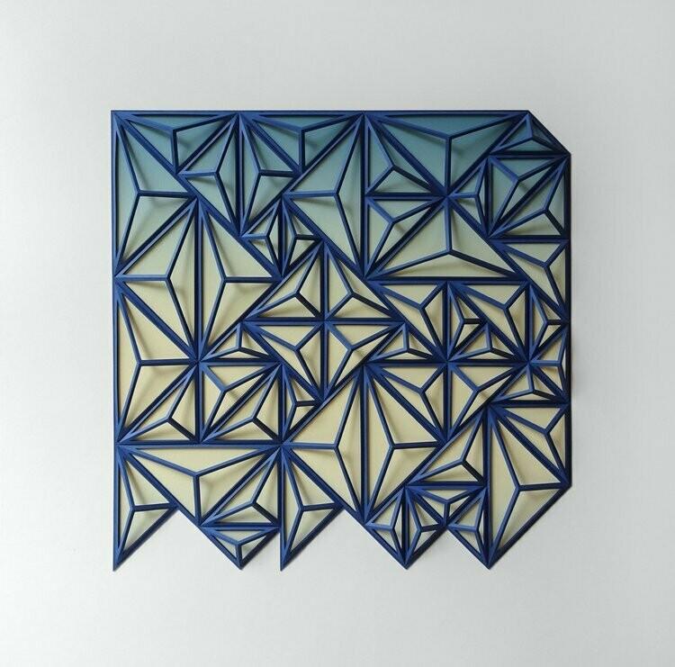 Geometric Paper Sculpture 19 (Title unspecified)