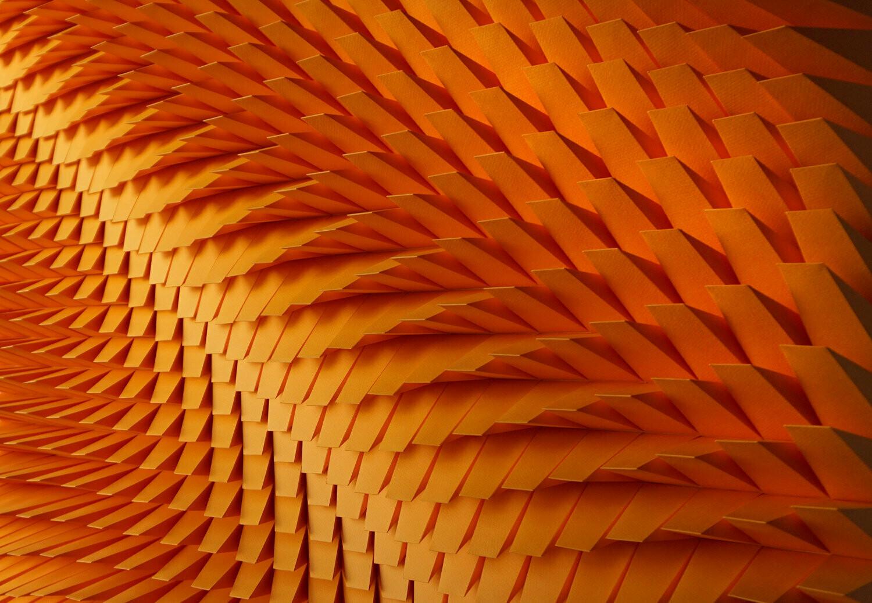 Geometric Paper Sculpture 24 (Title unspecified)