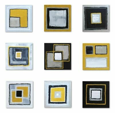 INTERCHANGEABLE SQUARES (9 PANELS)