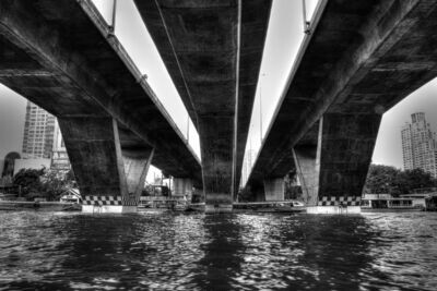BRIDGE (BANGKOK CHAO PHRAYA RIVER) 03