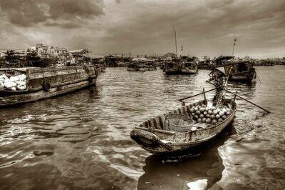 FLOATING MARKET MEKONG DELTA (VIETNAM) 03
