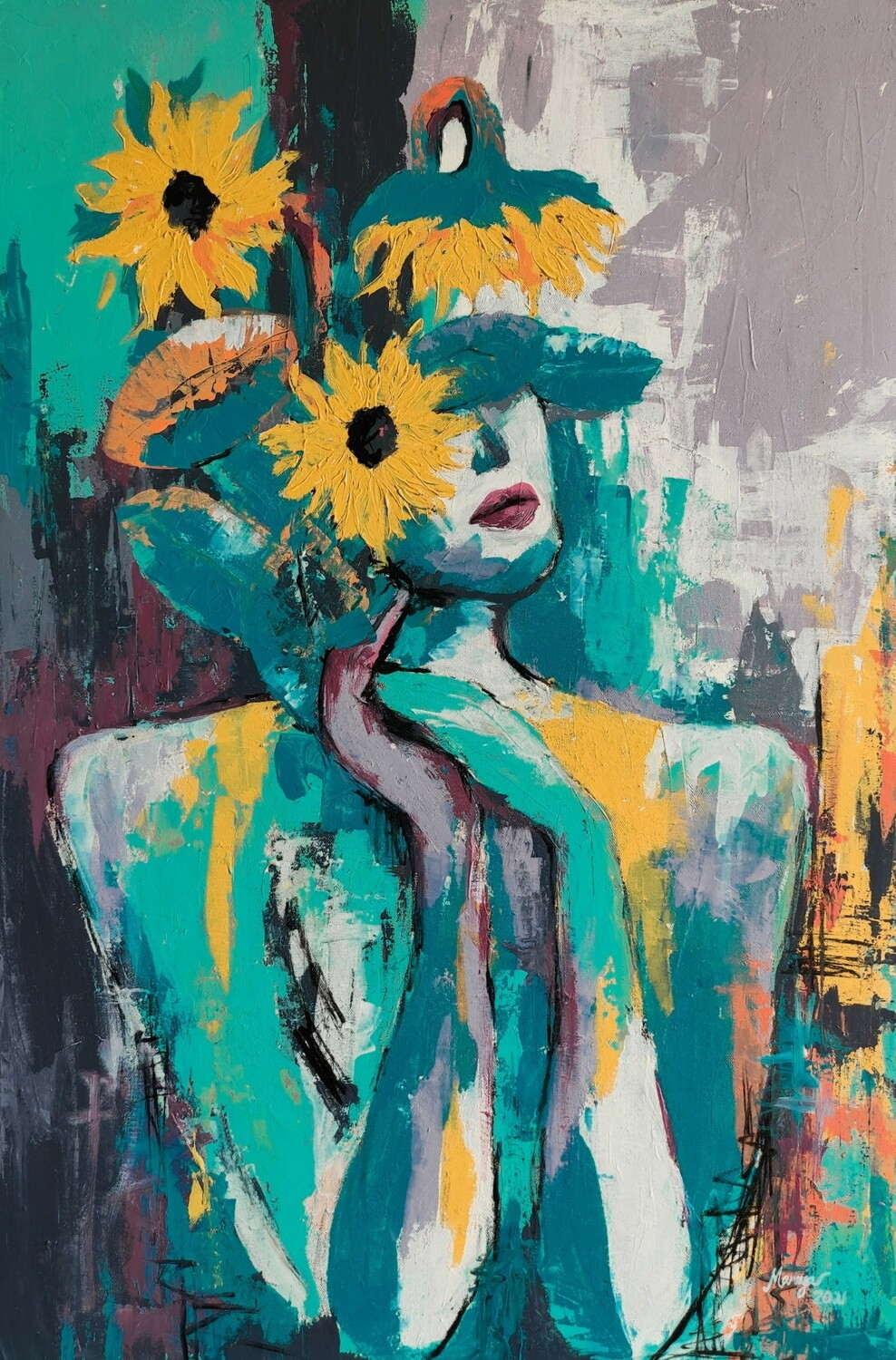 SUNFLOWERS IN ME