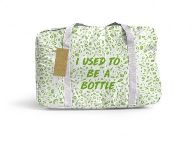 BottleBag Beach Voll Print