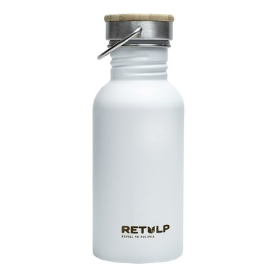 Trinkflasche Urban Weiß 0,5l