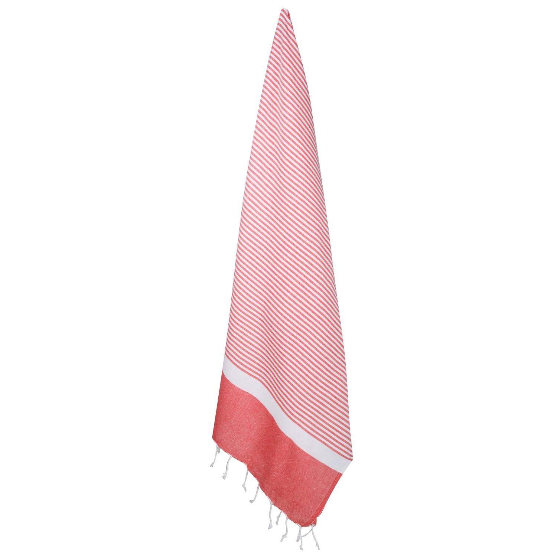 XL Eco-Baumwolle Hamamtuch Rot