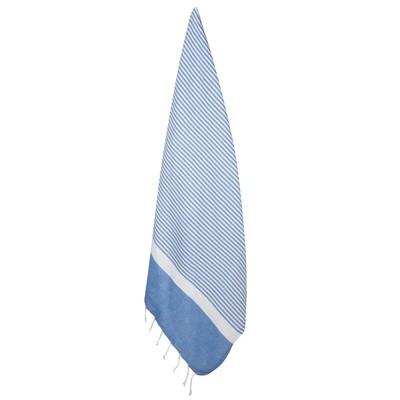 XL Eco-Baumwolle Hamamtuch Blau