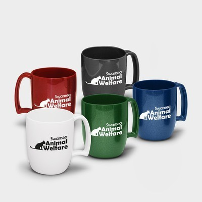 Kaffeetasse aus recyceltem Kunststoff