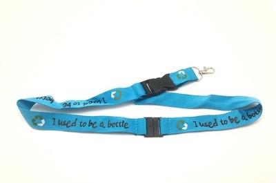 Schlüsselband aus recycelten PET-Flaschen