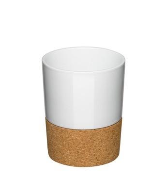 Kaffeebecher mit Kork 0,35l