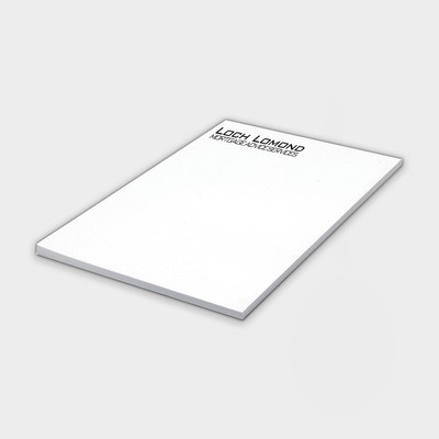 Notizblock aus recyceltem Papier A4