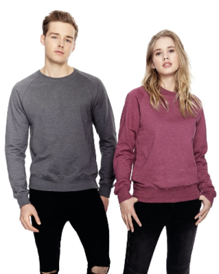 Unisex Sweatshirt salvage recycled