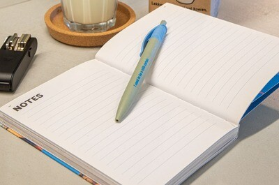 Kugelschreiber aus recycelten Tetra Pak