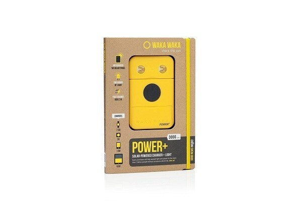 WAKA WAKA Powerbank - vollfarbige Veredelung