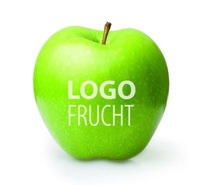 Logo Apfel grün