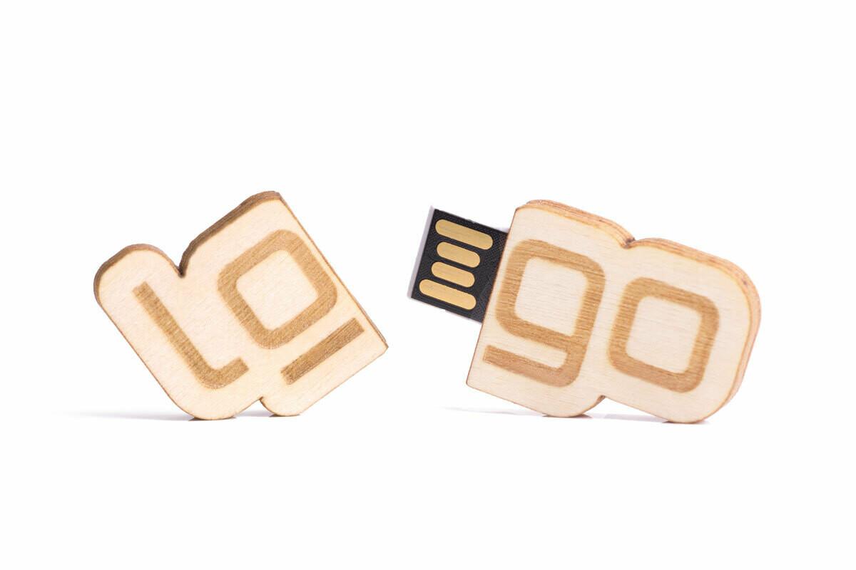 FSC USB Stick Individuell mit Kappe