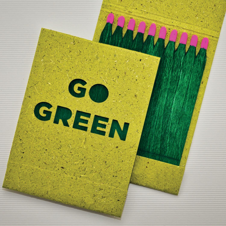 Go Green Streichhölzer (10 Stück)