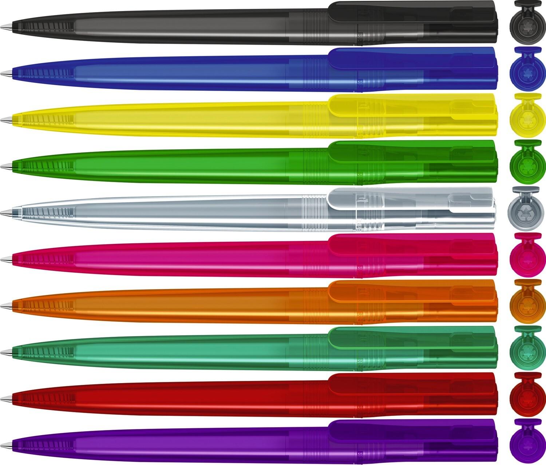 rPET Kugelschreiber Switch transparent