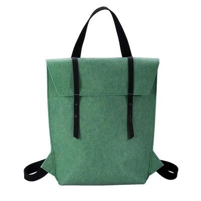 Handtaschen-Rucksack aus PET-Filz