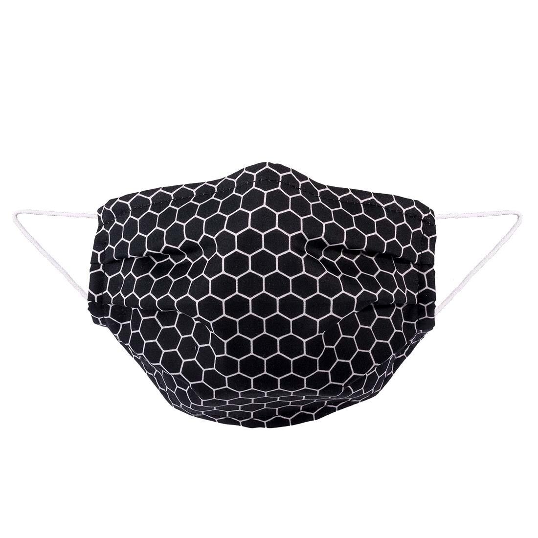 Baumwoll-Maske Hexagon