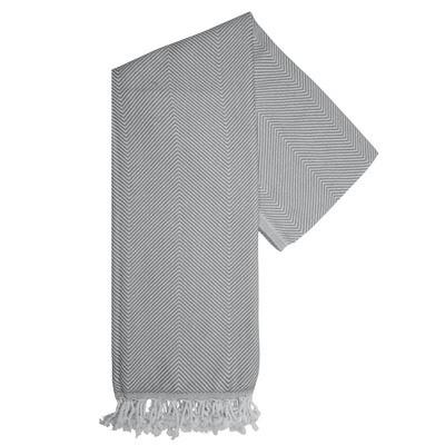 Pure Hamam-Handtuch Grau