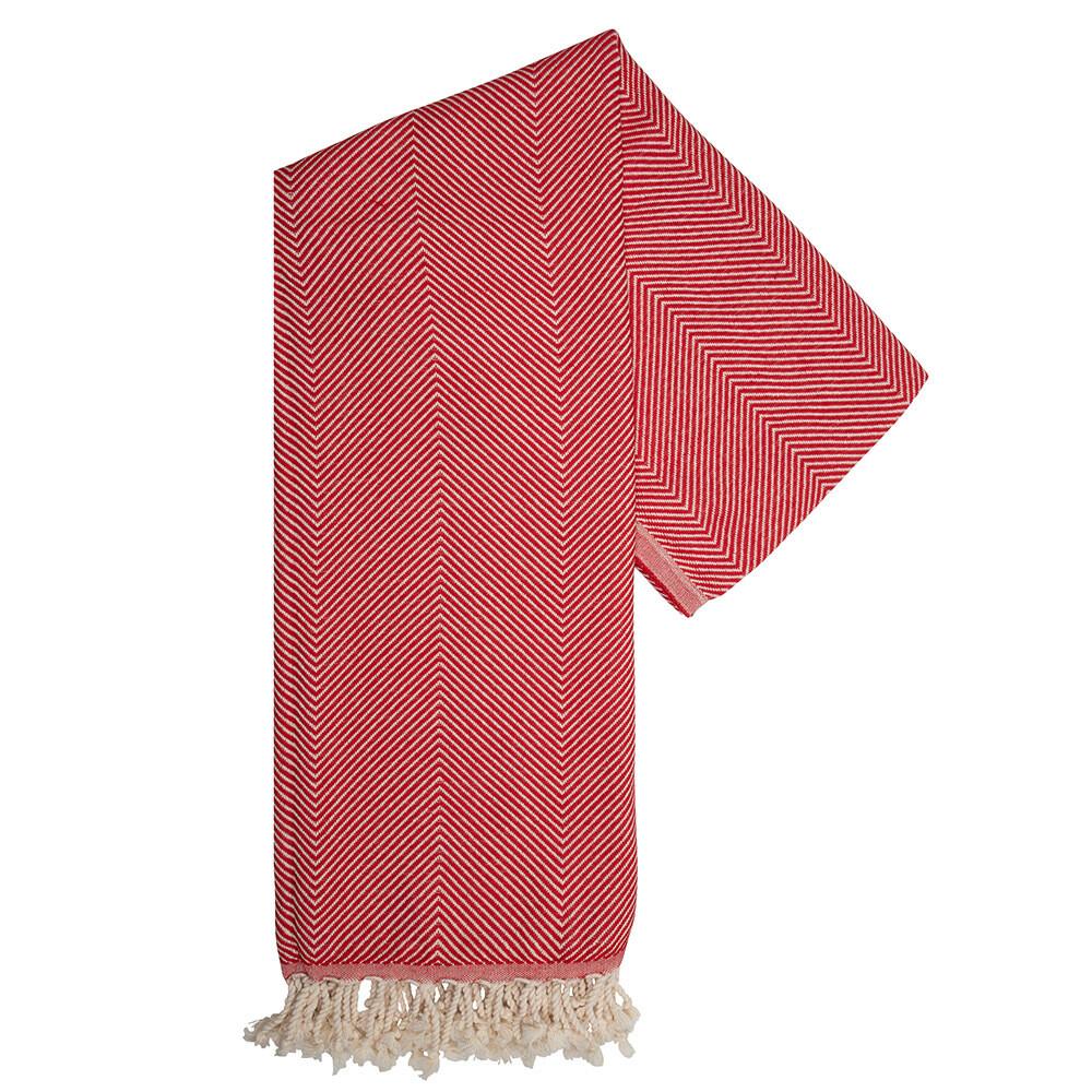 Pure Hamam-Handtuch Rot